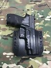 Black Carbon Fiber Kydex SIG P226R Holster