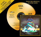 ASIA Self Titled  24 KT GOLD CD Audio Fidelity (2010) NEW