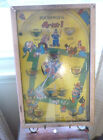 Northwestern Products Vintage Plunger Baseball Pinball Machine Poosh-M-Up 4 in1