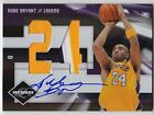 2009-10 Leaf Limited KOBE BRYANT Auto 3 Color Patch Card #d 2 5