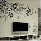 Bright Butterfly andFlower DIY Removable Vinyl Decal Art Decor Wall Stickers New