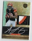 2011 Panini Gold Standard A.J. Green Rookie Patch ON CARD AUTO 325 3-Color RC