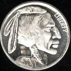 1 TROY OZ .999 SILVER ROUND INDIAN HEAD AND BUFFALO ROUND FREE SHIPPING