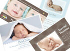 50 CUSTOM PHOTO BIRTH ANNOUNCEMENTS Baby Boy Click to see all designs