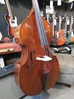 NEW Eatman Carved Top Upright Double Bass Outfit with Bag and Carbon Fiber Bow