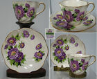 BEAUTIFUL,SALISBURY  VINTAGE  CUP AND SAUCER , EVENTIDE ,ENGLAND,RARE