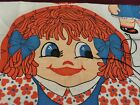 Fabric Panel My Name Is Suzy Cut and Sew Pillow Toy Doll Vintage