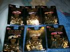 Nascar 24K Gold Plated Racing Champions 1 set 6 total