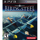 Birds of Steel  (Sony Playstation 3, 2012) Complete! Mint Condition!