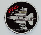 F-16 403TFS FIGHTING FALCON SQUADRON, WING 4 ROYAL THAI AIR FORCE PATCH