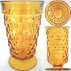 Vintage Whitehall Amber Tumbler By Indiana Glass Co.