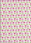 SUMMER FLORAL fabric in White from Riley Blake's SUMMER BREEZ - sold by 1/2 yard