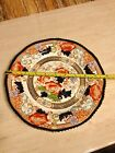 Antique Wood & Sons Royal Semi Porcelain Hand Painted Verona Pattern Plate