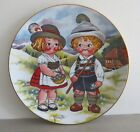 Dolly Dingle Visits Germany Numbered Limited Edition Collector's Plate  - 1981