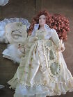 Duck House Heirloom Porcelain Doll.. Gorgeous Dress.. Almost 18
