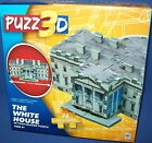 PUZZ 3D PUZZLE Beginner - THE WHITE HOUSE   NISB NEW  74 piece Age 8+