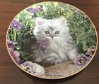 Purrfect Pose Plate by Nancy Matthews - Limited Edition - Plate No. RT0023