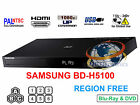 SAMSUNG BD-H5100 Region Free Blu-Ray Player & DVD for WorldWide Use, HDMI, 1080p