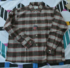 BNWT Tedwards Mens True Vtg Shirt Rockabilly Retro 1950s Button Down L Flannel