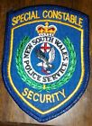 New South Wales special constable security patch - shipping to Australia free!