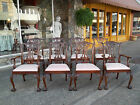 Grand set of Eight Chippendale Ball & Claw Dining Room Chairs by Hickory 20thc