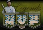 Jimmie Foxx, Game Used Bats, 2010 Triple Threads 6 9