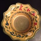 STYLE EYES BAUM BROS Sienna Collection Ceramic Pottery Yellow Brown Bowl 5