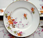 8 Chalfonte Side Bread Butter Plates - CPC INDIAN SUMMER Autumn Fall Leaves SET