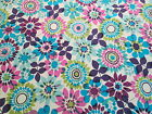 Gorgeous Large Print Floral 100% Cotton Quilt & Sewing Fabric, 1 Yard.