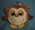 OWL COIN PURSE. SOFT FABRIC!  TAG READS