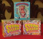 CEREAL KILLERS SERIES 1 & 2 & BATHROOM BUDDIES SEALED BOXES @@ ALL 3 BOXES @@