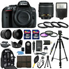 Nikon D5300 DSLR Camera + 18 55mm NIKKOR Lens + 30 Piece Accessory Bundle