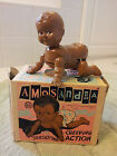 Amos and Andy Wind Up Toy ( Amosandra ) Creeping Baby By Louis Marx