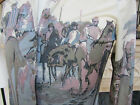 Vintage Shirt 70s Horse Racing Retro Kentucky Derby Cafe Scene Race