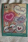 1987 HEART TO HEART RAG RUGS RUGPOINT SUZANNE MCNEILL 021 DURABLE RUGS BOOK