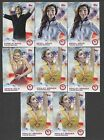 Charlie White Meryl Davis Gracie Gold Ashley Wagner 2014 Topps US Olympics Lot