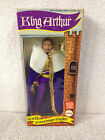 Original 1974 MEGO Worlds Greastest Super Knights KING ARTHUR Figure NRFB
