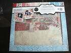 Family 12X12 Scrapbooking Kit and ALBUM with stickers cut outs paper accentNEW