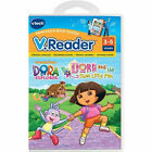 NEW!!!  Vtech V.Reader Dora and the Three Little Pigs 3-5 yrs Reading Games