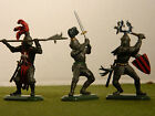 MEDIEVAL KNIGHTS  1/32 SCALE BRITAIN S FACTORY PAINTED SET
