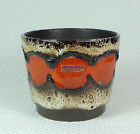 vintage scheurich FLOWERPOT 1960's 70's west german pottery