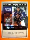 2010-11 PLAYOFF CONTENDERS LUC ROBITAILLE #'D 20 100 HIS JERSEY NUMBER 1 1 KINGS