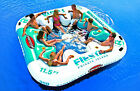 NEW Fiesta Island Inflatable Eight Person Raft Float Lounge Pool Beach Lake