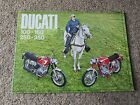 DUCATI 100 160 250 350 SEBRING MARK 3 MONZA CADET SINGLE SCRAMBLER BROCHURE