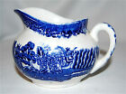 English Blue Willow Pitcher by British Anchor Pottery Co., Ltd., Staffordshire!