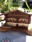 SWISS CHALET MUSIC  BOX