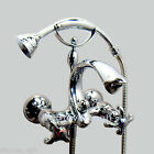 Brand New Clawfoot Bath Tub Faucet With Handheld Shower Wall Mounted 5546A
