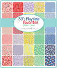 30s Playtime Favorites 1930s Reproduction  Jelly Roll Quilt Fabric 2.5