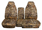 Designcovers Seat Covers 60-40 Hi Back Fit S10colorado Console Cover Camo