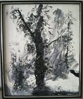 Morris Katz Original Signed Oil Painting Winter landscape 1981